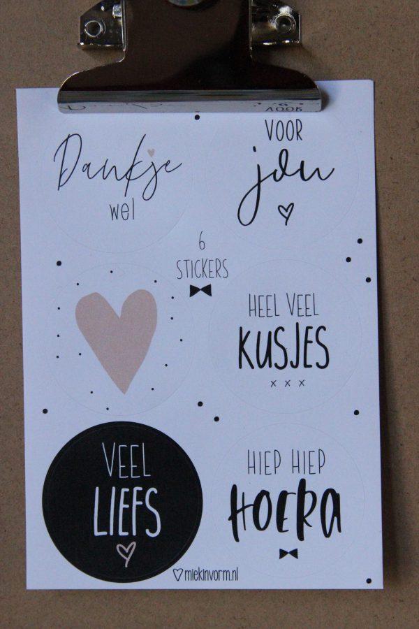 Kado Stickers MIEK